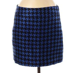 3/$15 The Limited Houndstooth print Mini Skirt